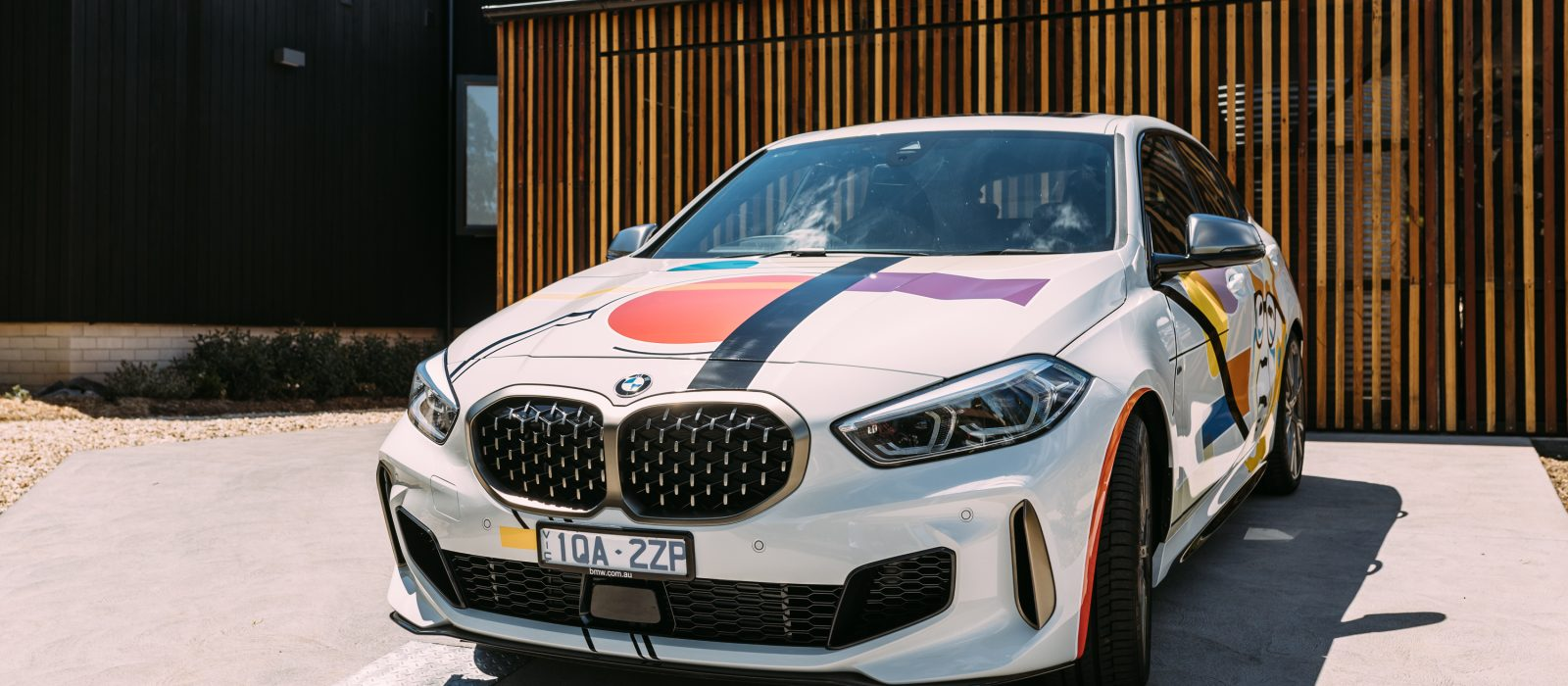 Rolfe Classic BMW Car Wrap Competition