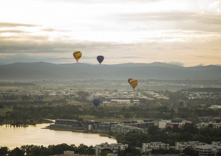 Canberra Balloon Spectacular 2014. Credit: VisitCanberra