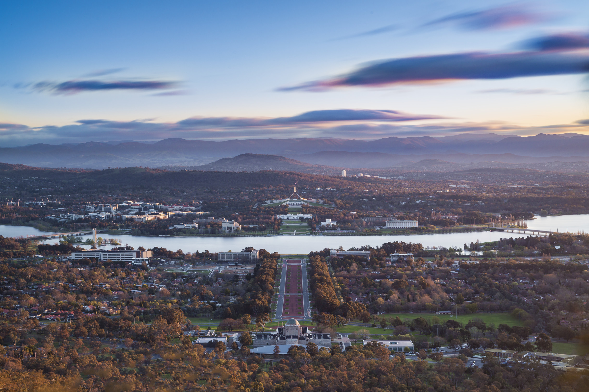 view from mount ainslie design canberra festival design canberra