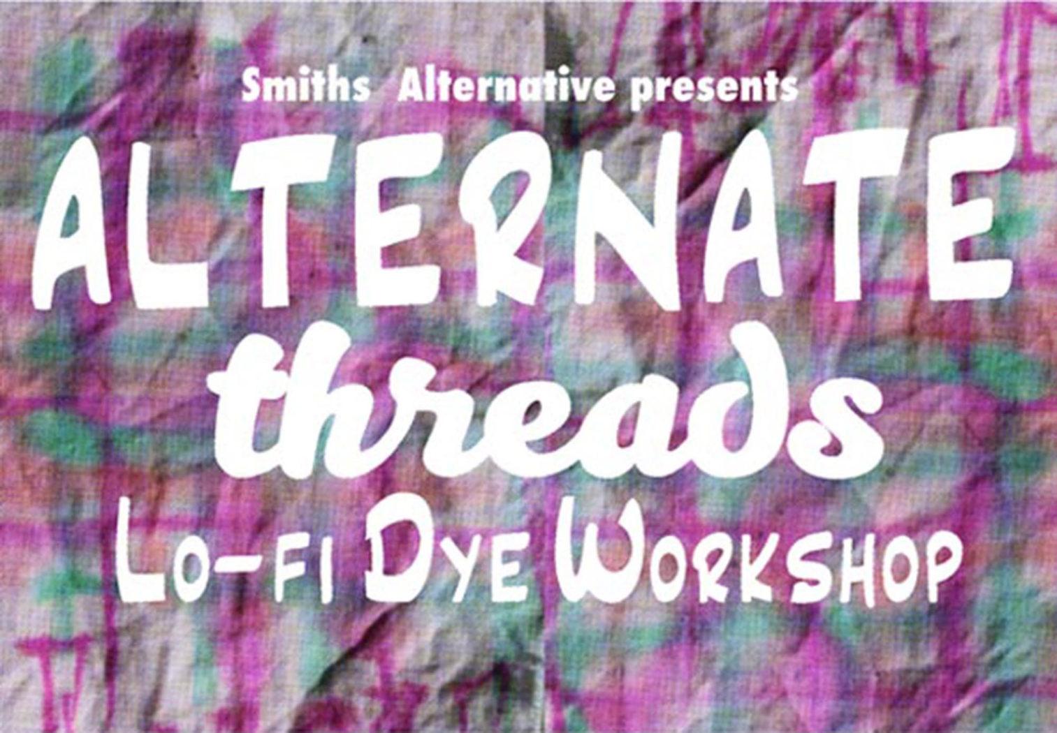 Dye Workshop Banner