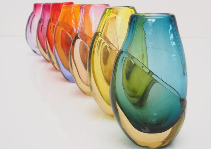 Harriet Schwarzrock, Dipped Vases 2015