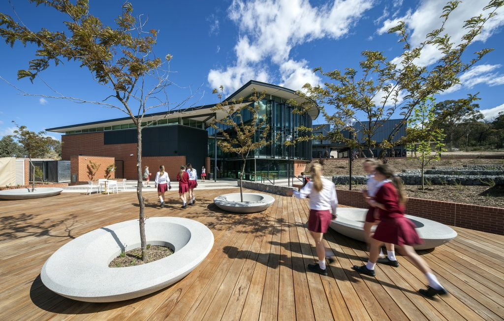 Radford Senior School by Cox Architecture. Photographer: Ben Wrigley