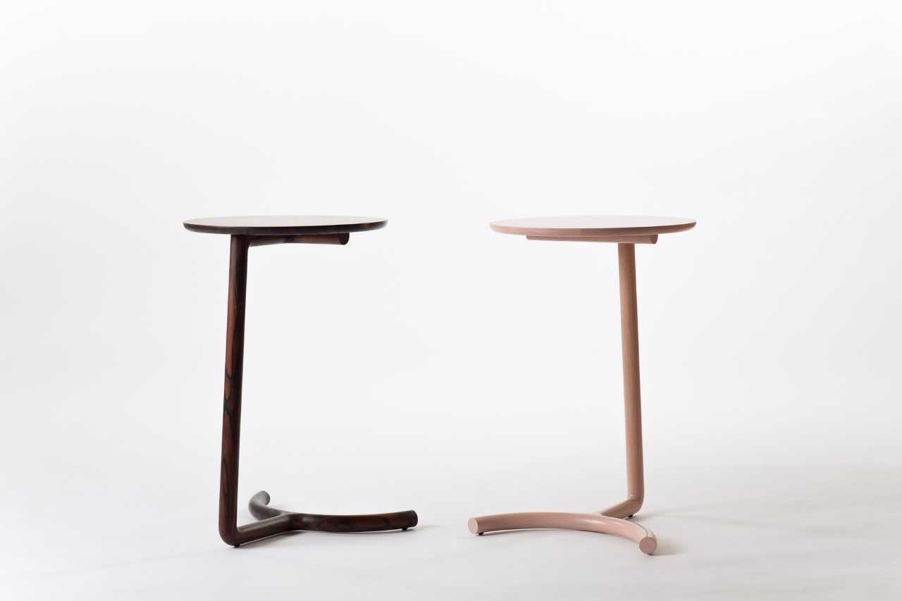 Nicholas Fuller's Cantilever side Tables