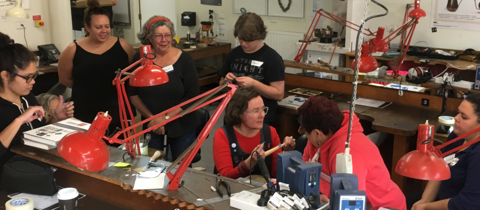NewContemporary Indigenous Craft and Design Workshop kicks off
