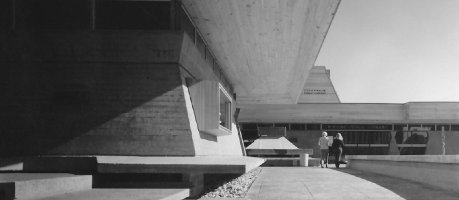St Kilda Library c1971. Photo courtesy of Enrico Taglietti