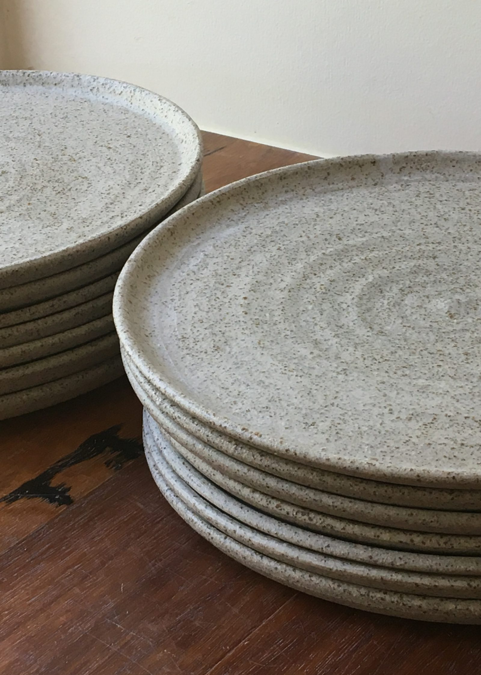 Josephine Townsend, ceramic plates, 27cm. Photo: Courtesy of the artist.