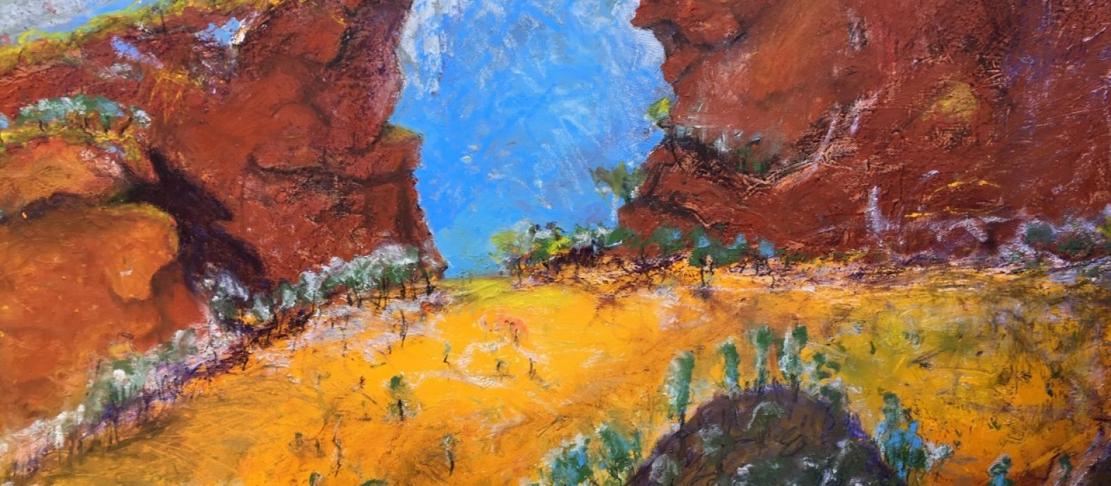 Rodney Moss, Pilbara Dreaming (detail). Photo: R. Moss
