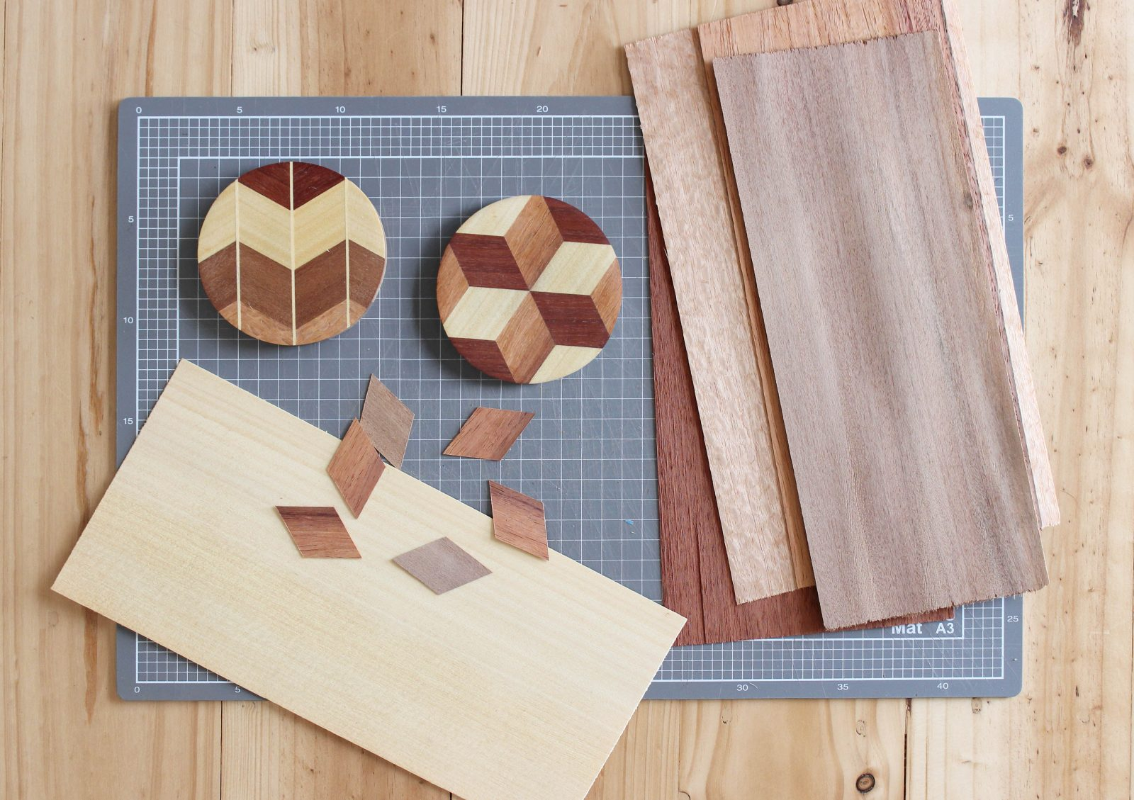 Chelsea Lemon, Parquetry Process. Photo: supplied