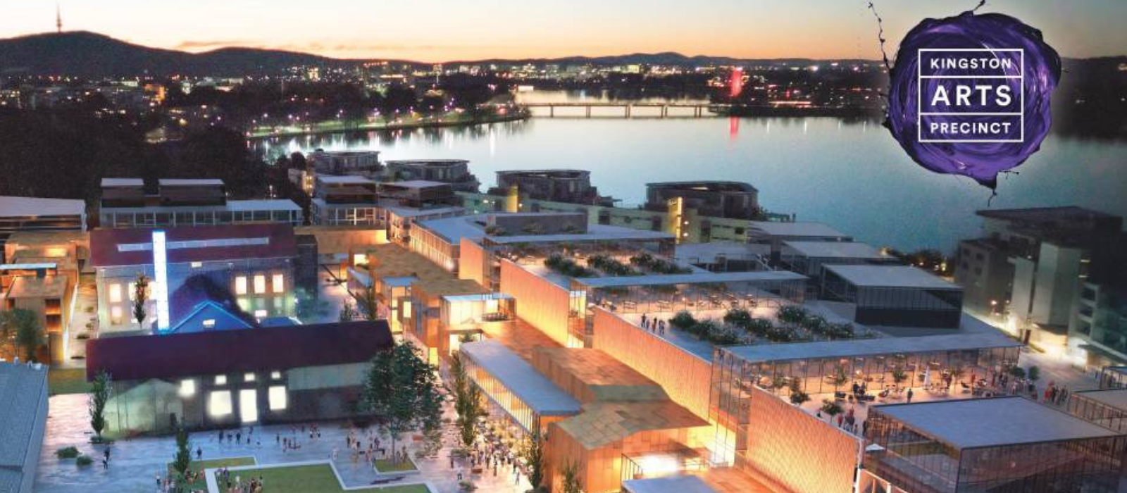 Image: Artists' impression of the proposed Kingston Arts Precinct. (via Canberra Times)