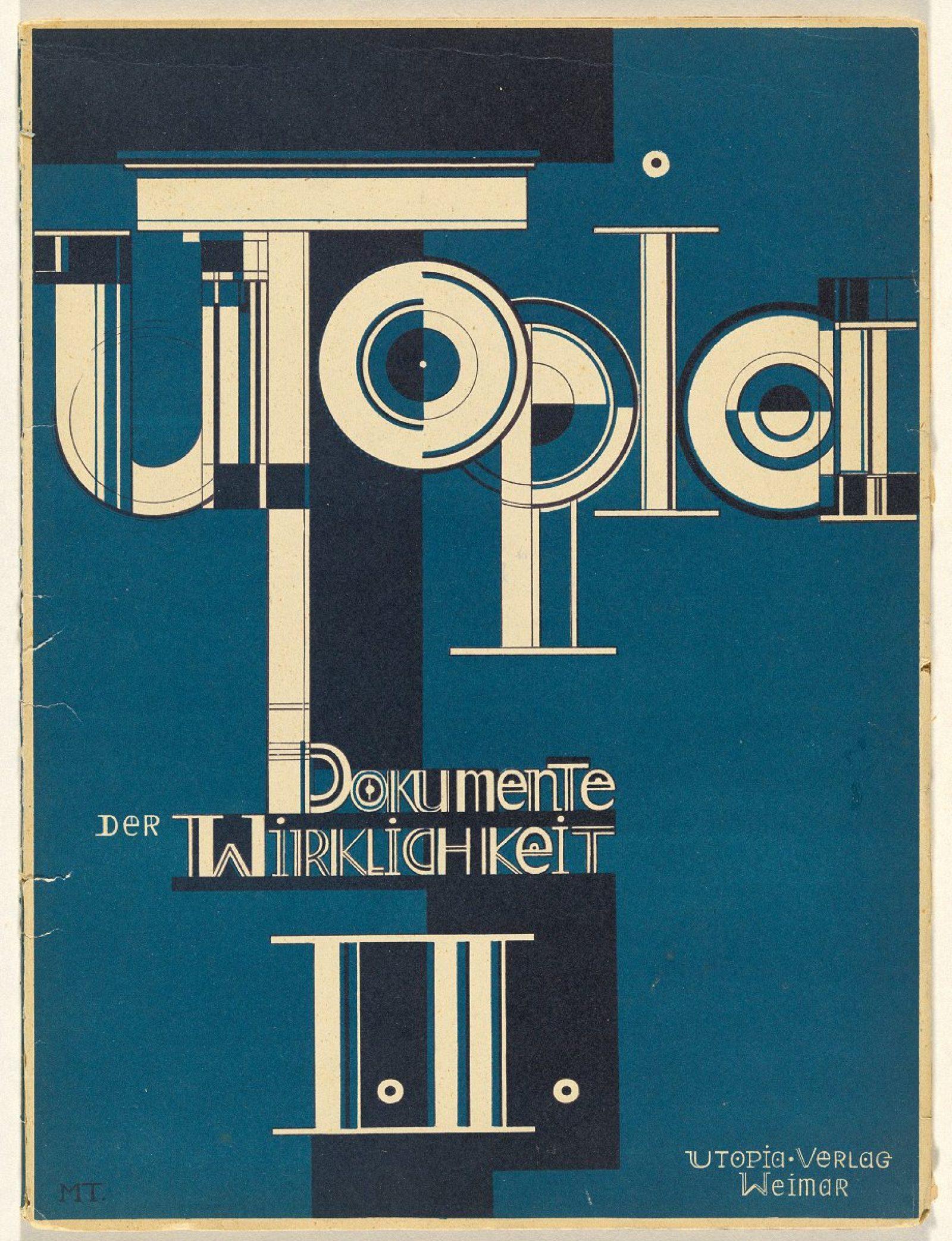 Oskar Schlemmer Utopia: Dokumente der wirklichkeit [Utopia. Documents of reality] 1921