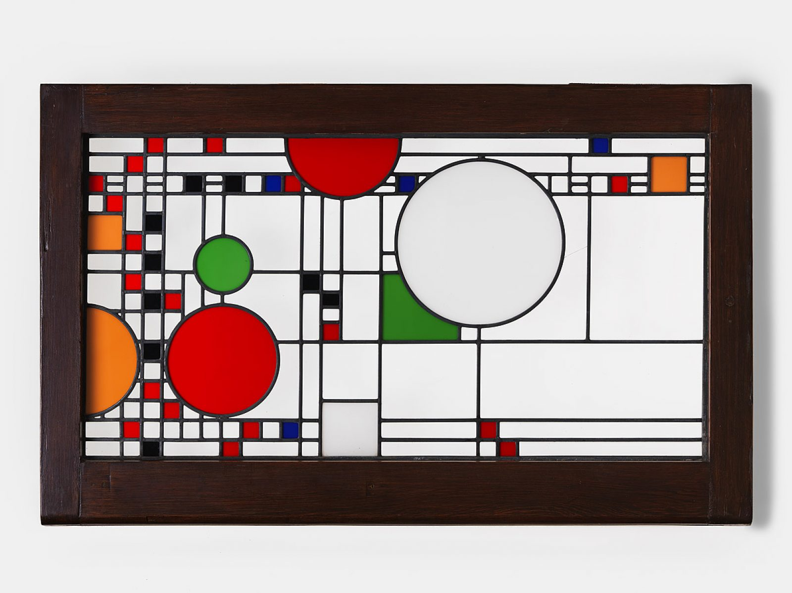 Frank Lloyd Wright Window from the Avery Coonley Playhouse 1912