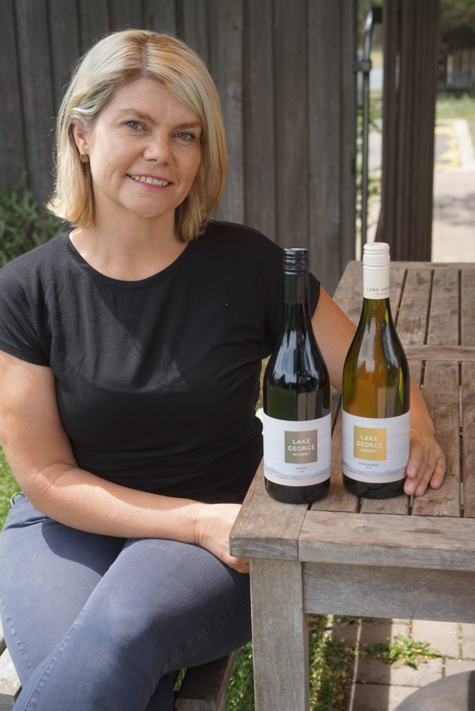 Sarah McDougall from Lake  George Winery. Photo: Supplied