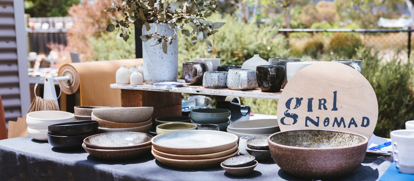 Girl Nomad Ceramics. Photo: 5 Foot Photography.