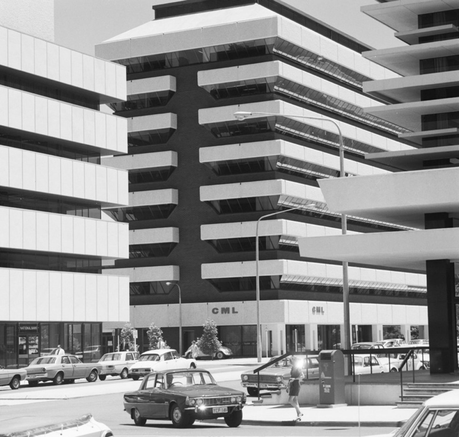 Darwin Place. 1971. Photo: National Archives of Australia.