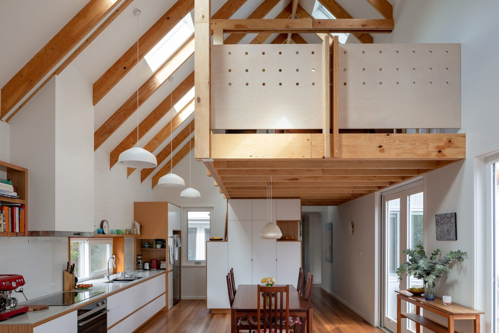 Living Rooms Week 1:   Loft House Rob Henry Architects