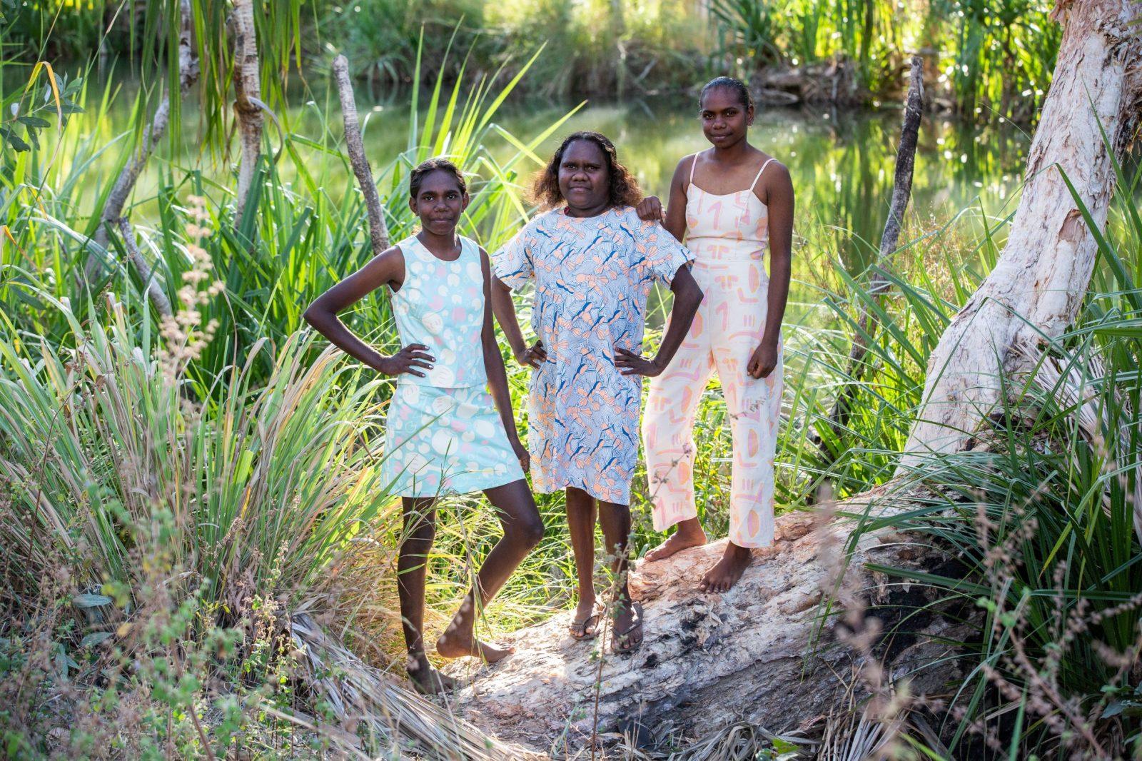 Minyerri Girls. Image: Magpie Goose
