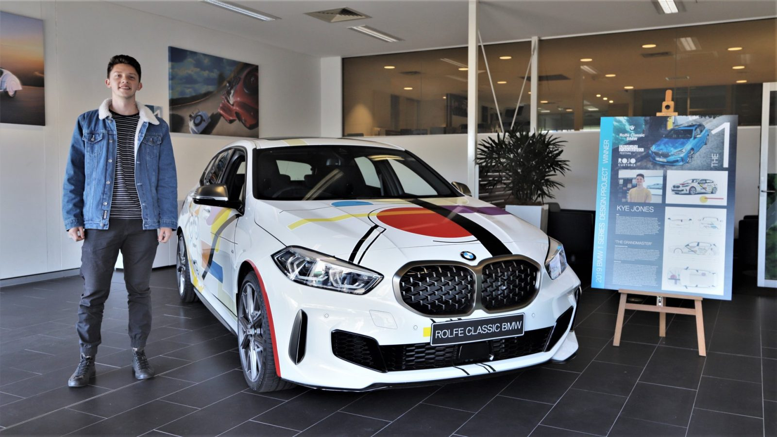 Congratulations Kye – BMW Car Wrap competition winner