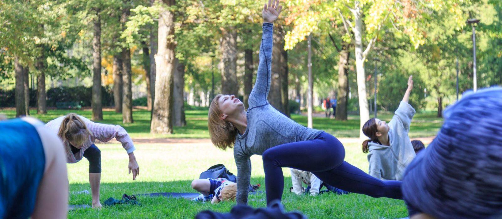 Yoga with Kanishka. Image: Lululemon