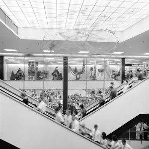 National Archives of Australia: A1200, L53463  TITLE: Retail - Shops - Interior of the Monaro Shopping Mall at Civic Centre, Canberra, Australian Capital Territory  PRINCIPAL CREDIT: Australian News and Information Bureau, photographer Mike Brown 1966 - 1966 11794877