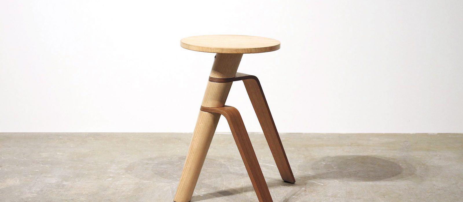 George Shvili, AWRY Stool/ side table, 2019. Photo: courtesy of the artist.