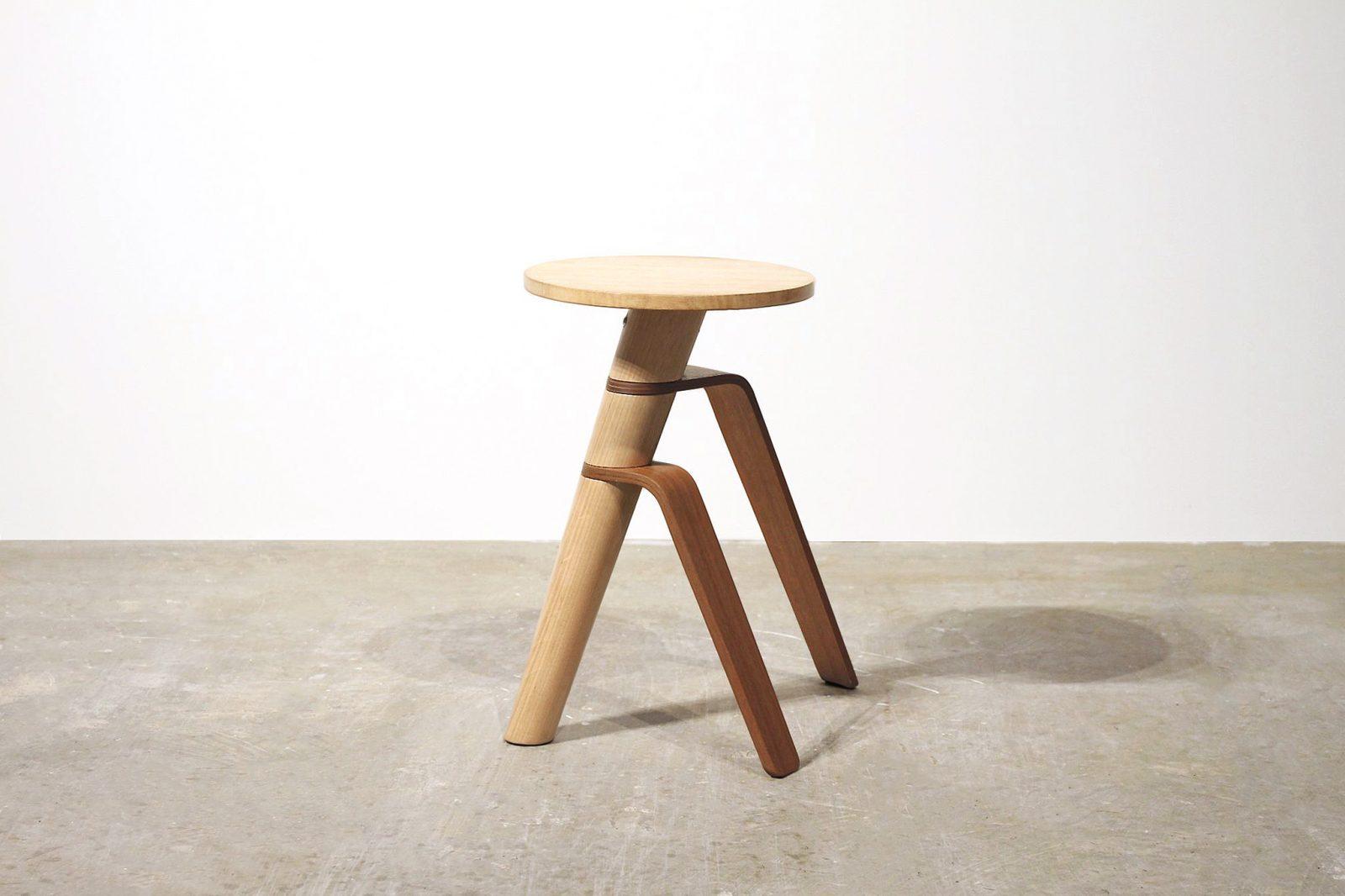 George Shvili, AWRY stool. Photo: Courtesy of the artist