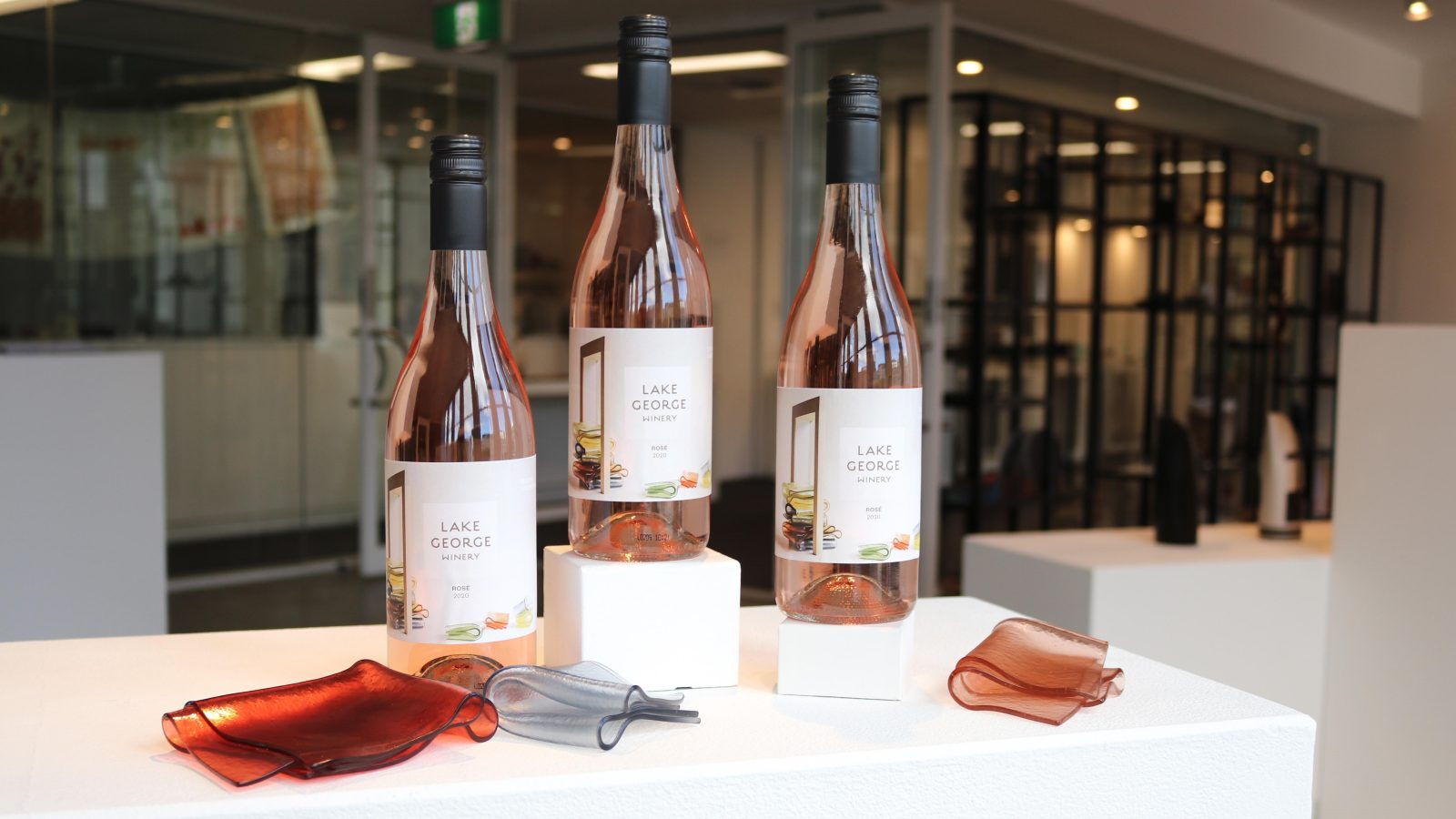 Lake George Winery supporting Design Canberra