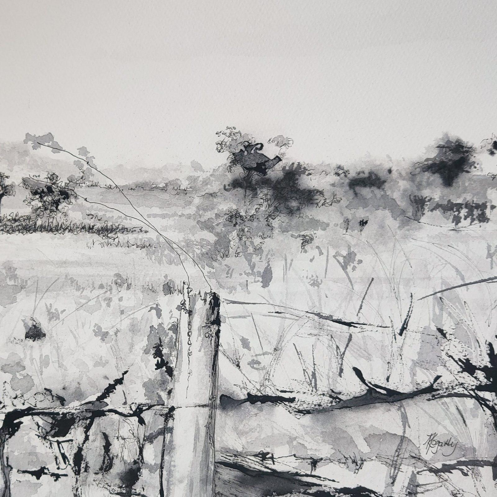Barton Estate Vista (detail) by Kylie Fogarty