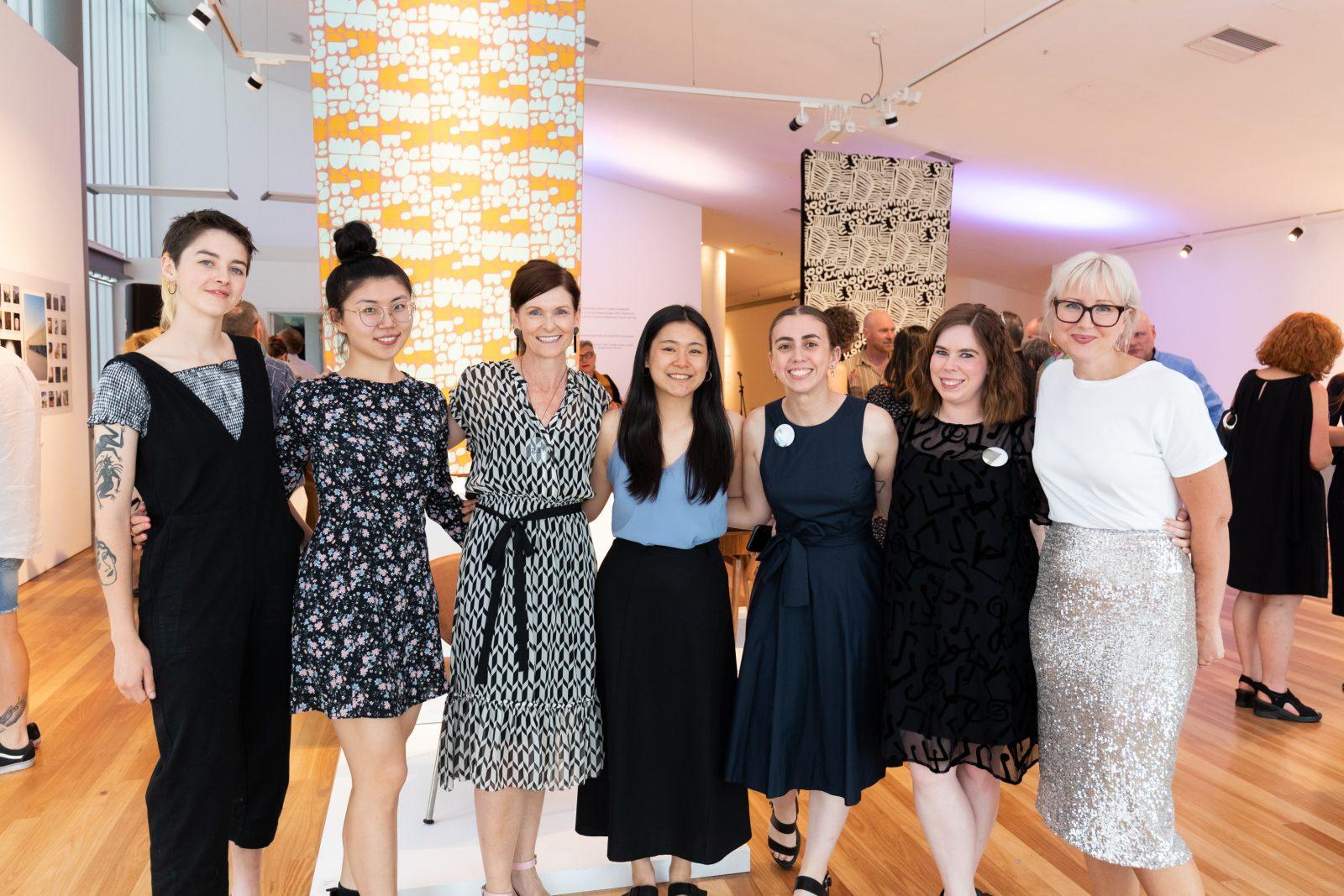 Craft ACT staff (L-R), Annie Parnell, Selena Kang, Rachael Coghlan, Vy Tsan, Madisyn Zabel, Meagan Jones and Kate Nixon. Photo: 5 Foot Photography