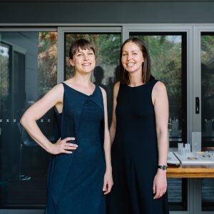 Phoebe Porter and Alice Sutton open studio 2020. Photo: 5 Foot Photography.