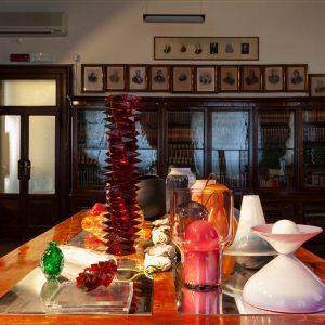 Glass Utopia on display at Milan Design Week. Photo: Amir Farzad